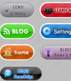 Horizontal Sliding Flash Menu Vistabuttons Xhtml