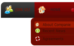 good roll down buttons Scrolling Menu En Html