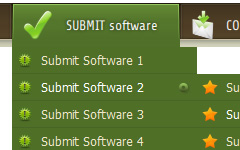 add buttons into joomla topmenu Html Code Scroll Down Menu
