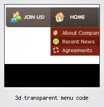 3d Transparent Menu Code