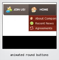 Animated Round Buttons