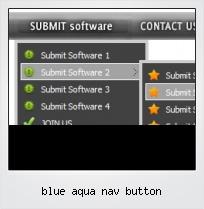 Blue Aqua Nav Button