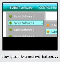 Blur Glass Transparent Button Photoshop
