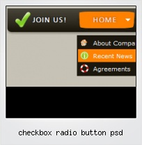 Checkbox Radio Button Psd