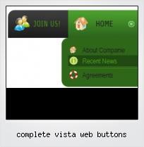 Complete Vista Web Buttons