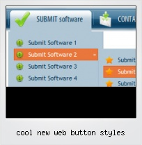 Cool New Web Button Styles