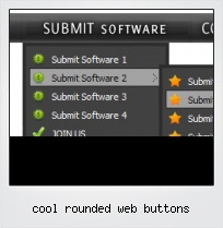 Cool Rounded Web Buttons