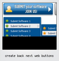 Create Back Next Web Buttons