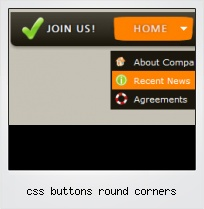 Css Buttons Round Corners