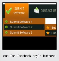 Css For Facebook Style Buttons