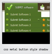 Css Metal Button Style Shadow