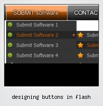 Designing Buttons In Flash