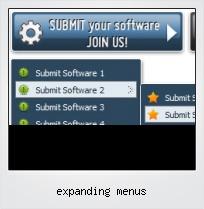 Expanding Menus