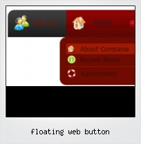 Floating Web Button