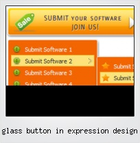Glass Button In Expression Design