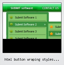 Html Button Wraping Styles Examples
