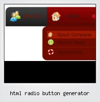 Html Radio Button Generator