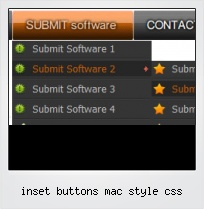 Inset Buttons Mac Style Css