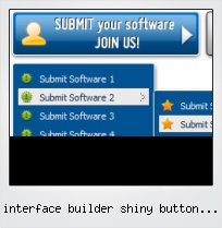 Interface Builder Shiny Button Image
