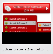Iphone Custom Silver Button Graphics