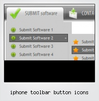 Iphone Toolbar Button Icons