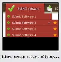 Iphone Webapp Buttons Sliding Doors