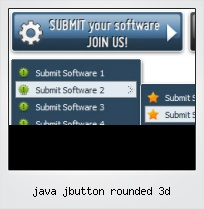 Java Jbutton Rounded 3d