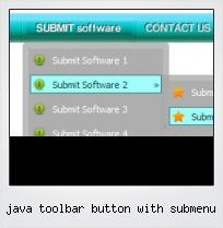 Java Toolbar Button With Submenu