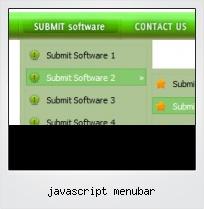 Javascript Menubar