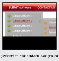 Javascript Radiobutton Background