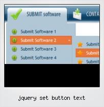 Jquery Set Button Text