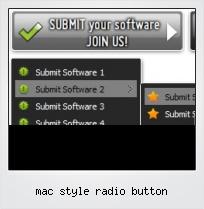Mac Style Radio Button