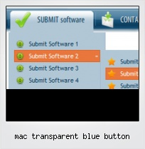 Mac Transparent Blue Button