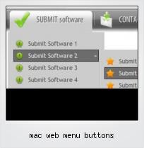 Mac Web Menu Buttons