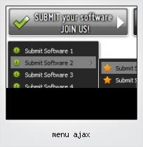 Menu Ajax