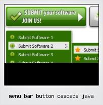 Menu Bar Button Cascade Java