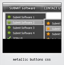 Metallic Buttons Css