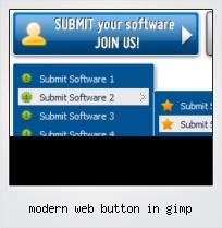 Modern Web Button In Gimp