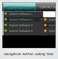 Navigation Button Coding Html