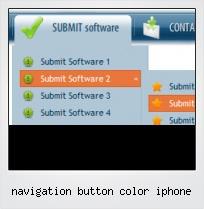 Navigation Button Color Iphone