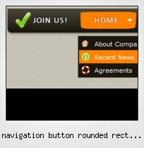 Navigation Button Rounded Rect Iphone