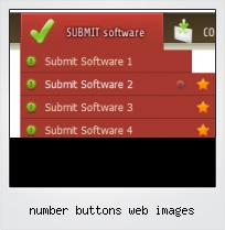 Number Buttons Web Images