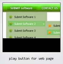 Play Button For Web Page