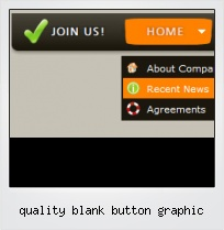 Quality Blank Button Graphic