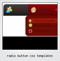 Radio Button Css Templates