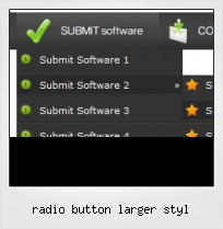Radio Button Larger Styl