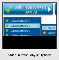 Radio Button Style Iphone
