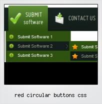 Red Circular Buttons Css