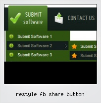Restyle Fb Share Button