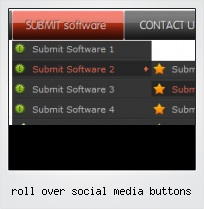 Roll Over Social Media Buttons